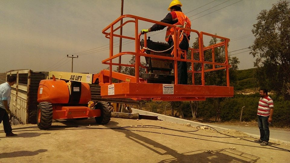 JLG 600AJ 20 mt dizel eklemli platform manlift