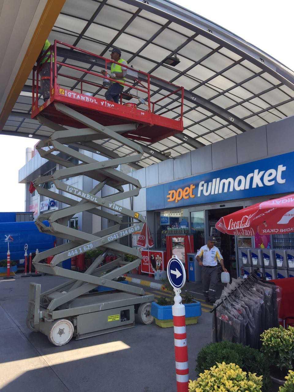 İstanbul Vinç'ten Skyjack İkinci El Makaslı Platform