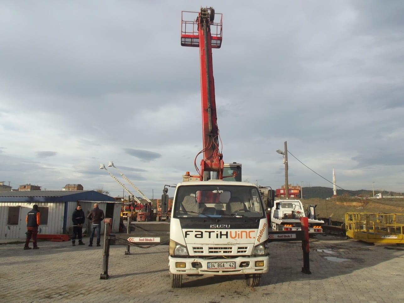 Satılık 27 Metre Sepetli Platform