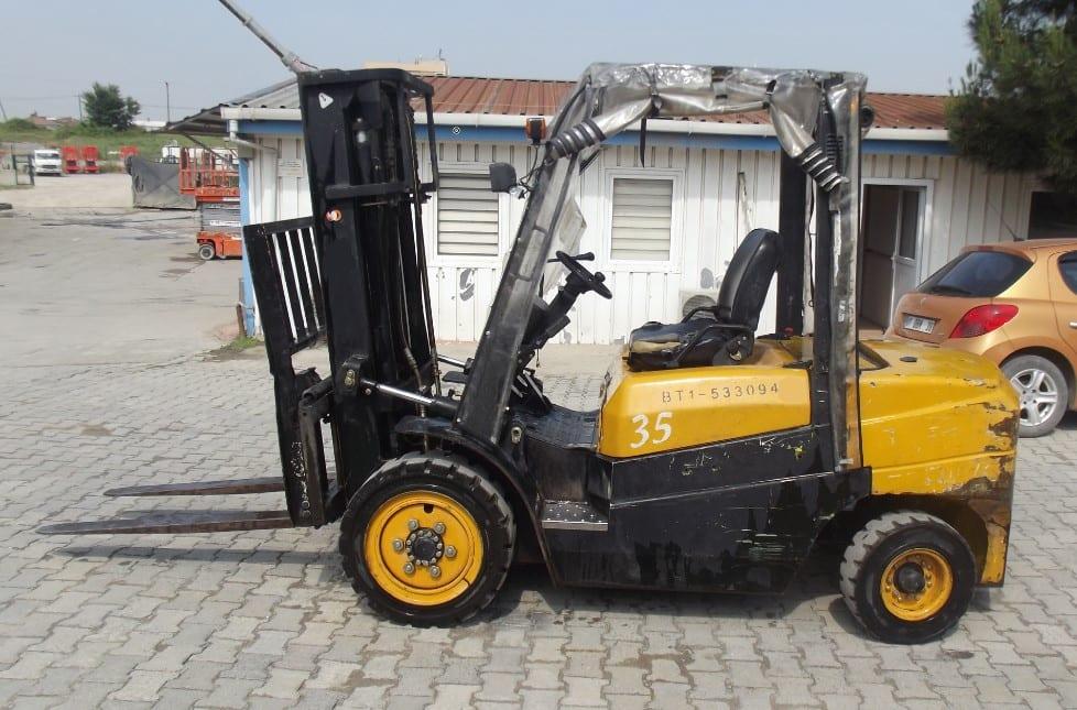 Feeler FD35 Dizel İkinci El Forklift