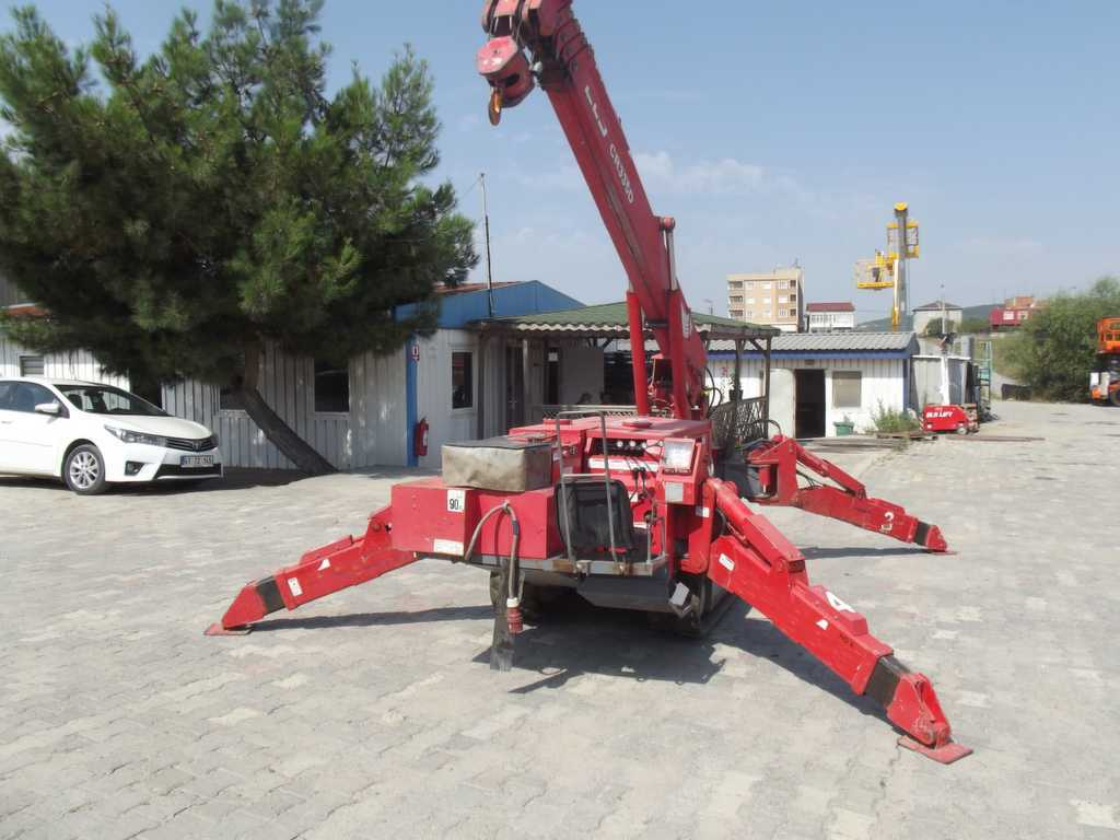 3 Ton Paletli Mini Vinç – Mighty Crane –