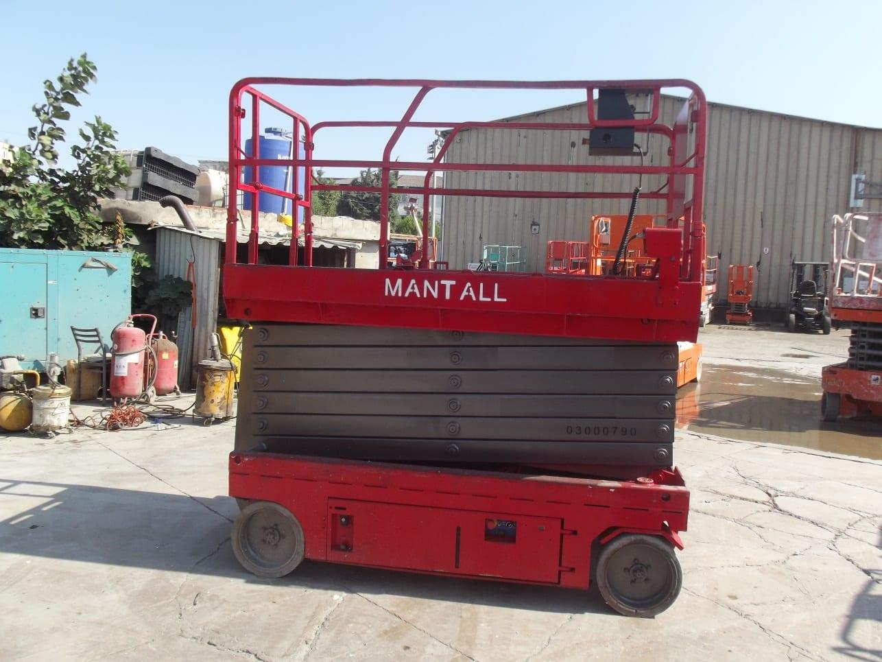 İkinci El Mantall 14 Metre Makaslı Platform