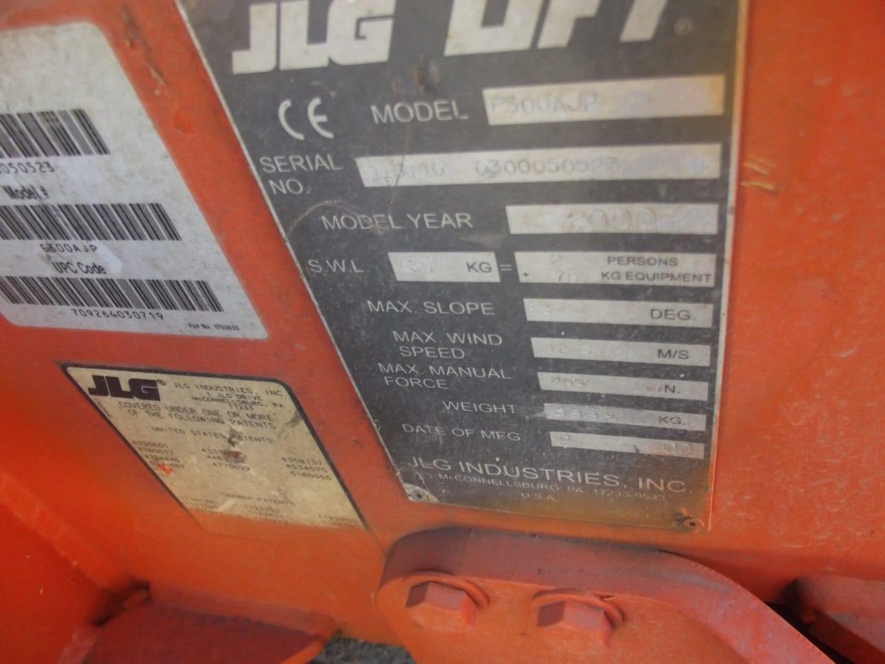 Satılık JLG 300 AJP – Akülü Eklemli Platform