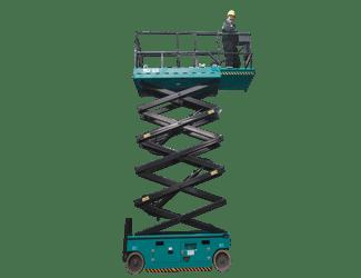 16 Metre Akülü Makaslı Platform