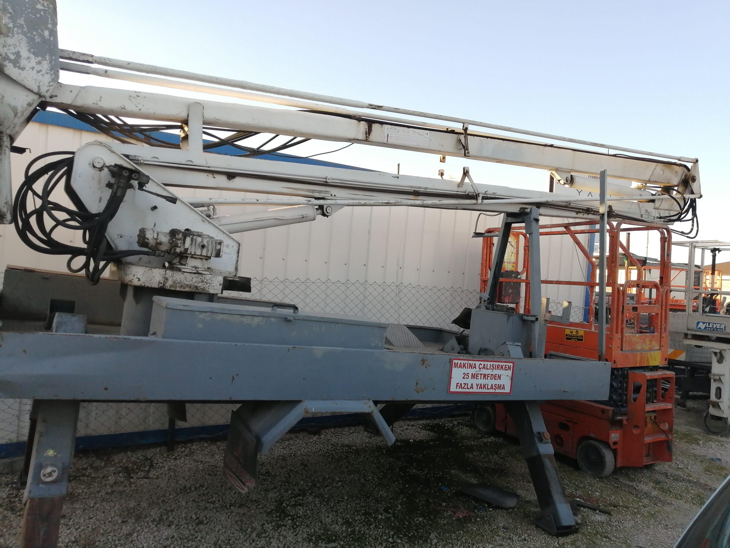 Araç üstü sepet Platform 14 mt çalışma