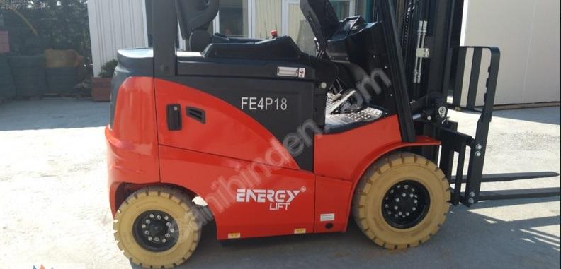 sıfır energy lift akülü forklift 1800 kg triplex 4 teker