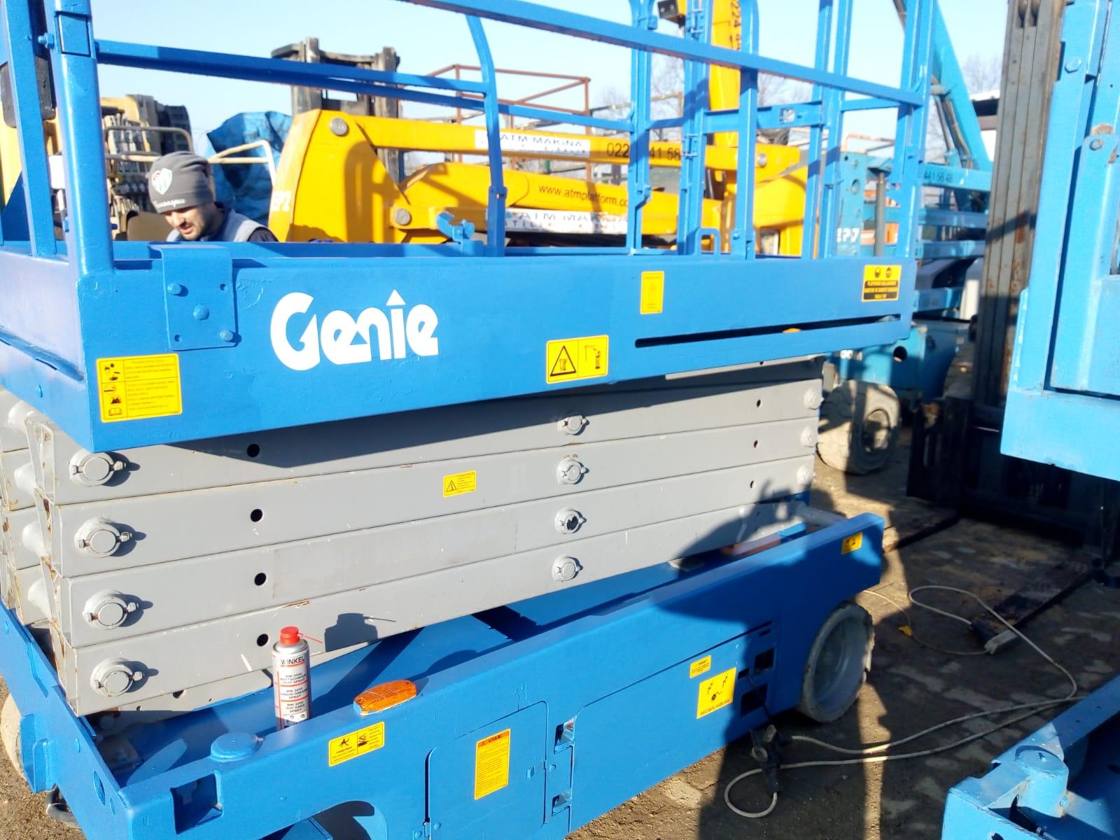Genie Platform MANLİFT  12 M full bakımlı