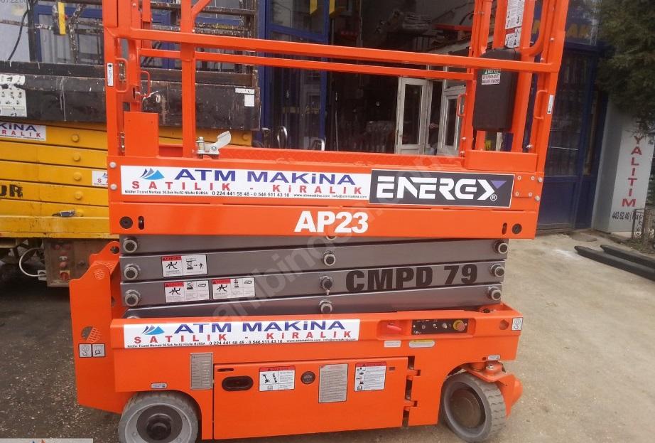 ENERGY LİFT 8 METRE PLATFORM (DİNGLİ İMALATI)
